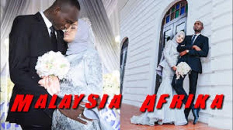 Photo of 2018 Berawal dari Curhatan di Kafe,  Wanita Malaysia Menikah dengan Pria Afrika