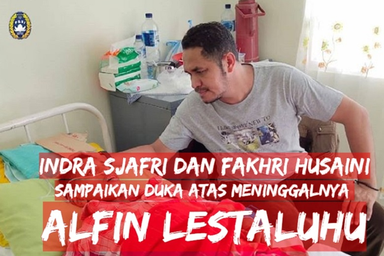 Photo of Indra Sjafri dan Fakhri Husaini Sampaikan Duka Atas Meninggalnya Alfin Lestaluhu