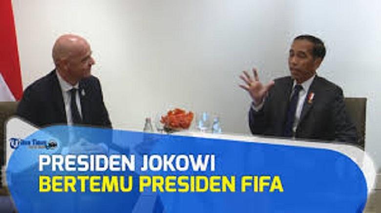 Photo of FIFA Akan Temui Presiden Jokowi di Bangkok,  soal Piala Dunia U-20