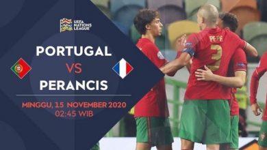Photo of Prediksi Jitu Malam Ini Portugal vs Prancis 15 November 2020 100% Jackpot