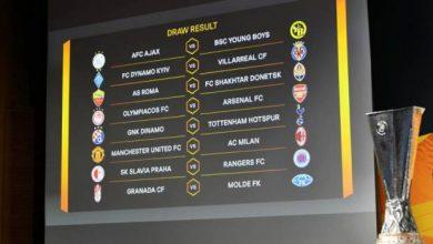 Photo of Hasil Pengundian Babak 16 Besar Liga Europa, MU Bertemu Milan