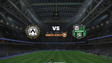 Photo of Live Streaming  Udinese vs Sassuolo 6 Maret 2021