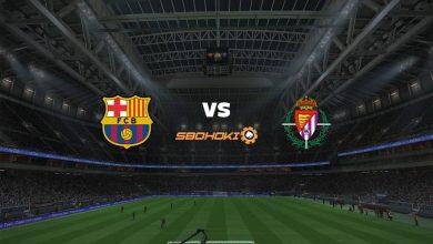 Photo of Live Streaming  Barcelona vs Valladolid 5 April 2021
