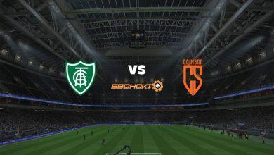Photo of Live Streaming  América-MG vs Coimbra 17 April 2021
