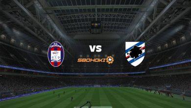 Photo of Live Streaming  Crotone vs Sampdoria 21 April 2021