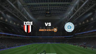 Photo of Live Streaming  Botafogo SP vs São Bento 11 April 2021