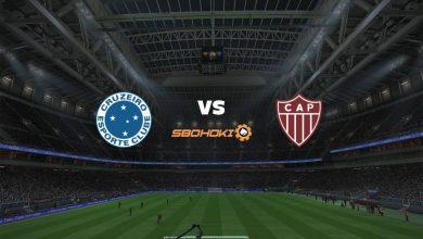 Photo of Live Streaming  Cruzeiro vs Patrocinense 25 April 2021