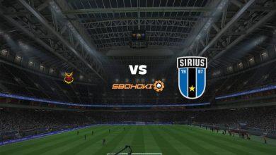 Photo of Live Streaming  Östersunds FK vs Sirius 22 Mei 2021
