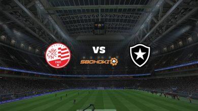 Photo of Live Streaming  Náutico vs Botafogo 20 Juni 2021