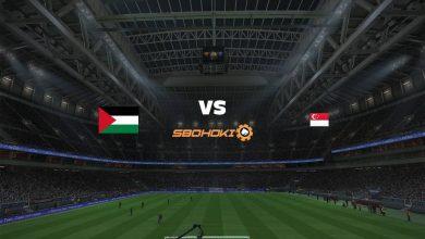 Photo of Live Streaming  Palestine vs Singapore 3 Juni 2021
