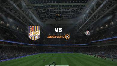 Photo of Live Streaming  Dunajska Streda vs Partizan Belgrade 29 Juli 2021