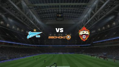 Photo of Live Streaming  Zenit St Petersburg vs CSKA Moscow 26 Agustus 2021