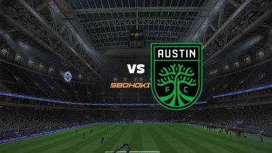 Photo of Live Streaming  Vancouver Whitecaps vs Austin FC 4 September 2021